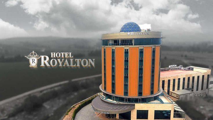 Osmaniye Royalton Hotel VRF Klima Sistemleri Kurulum Hizmetimiz